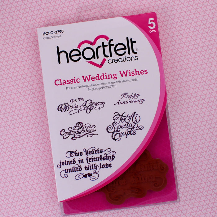 Classic Wedding Wishes Stamp
