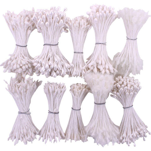 Heartfelt Creations Bridal Bouquet Stamens 10/Pkg
