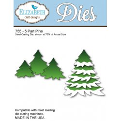 Elizabeth Craft Designs 755 5 Part Pine