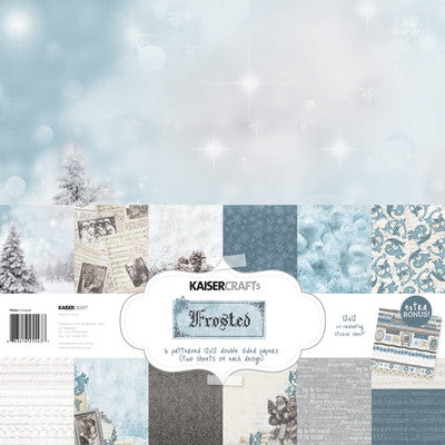 Kaisercraft  Frosted 12 x 12 Paper PK543 Frosted pack