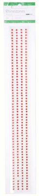 Self Adhesive Rhinestones RS450 Red
