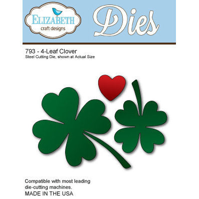 Elizabeth Craft Designs 793 4-Leaf Clover