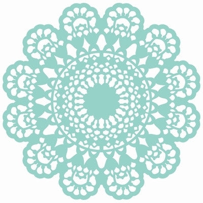 Kaisercraft  12 x 12 Template Lace Doily T617