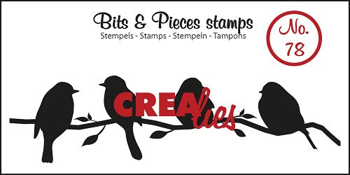 Bits & Pieces stamp no. 78 Birds on a branch