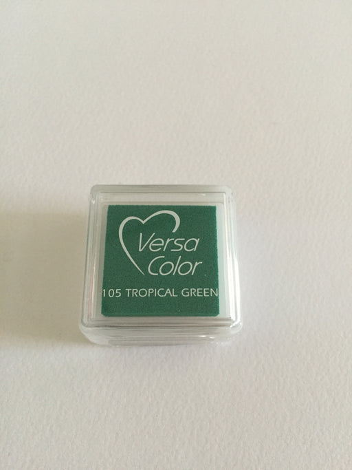 TSUKINEKO Versa Color Mini inkpad 105 Tropical Green