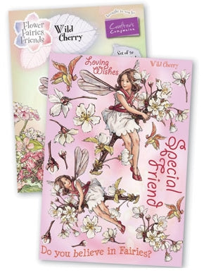 Crafters Companion Flower Fairies Large Wild Cherry