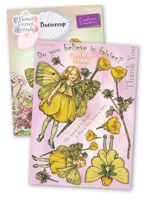 Crafters Companion Flower Fairies Large Buttercup
