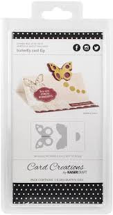 Kaisercraft Decorative Dies DD316 Butterfly Card Flip