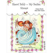 "My Besties Clear Stamps 4""X 6"" Fancy Pants Sea Shell Susie- MYB-0246"