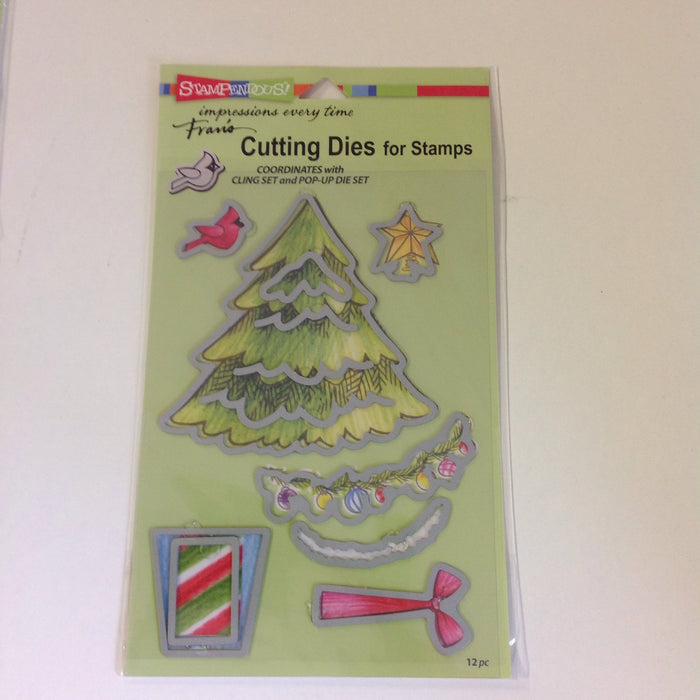 Stampendous  DCS5080 Create Christmas Die Cut Set