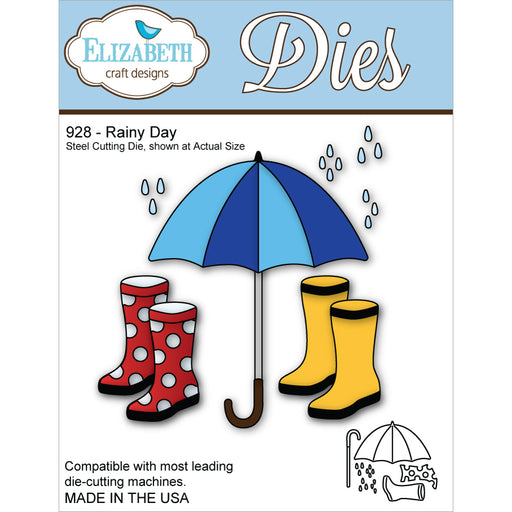 Elizabeth Craft Designs 928 Rainy Day