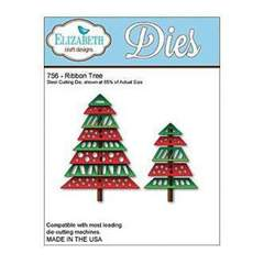 Elizabeth Craft Designs 756 Ribbon Tree
