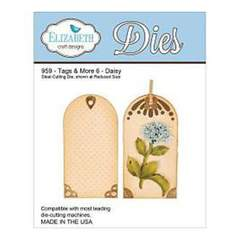 Elizabeth Craft Designs 959 Tags & More 6 - Daisy