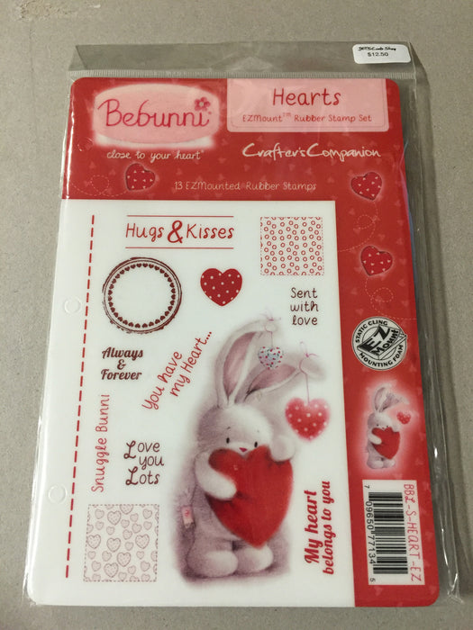Stamp Hearts BeBunni