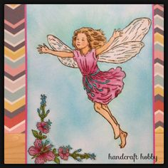 Crafters Companion Flower Fairies Rose Bay Willow Herb