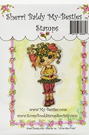 "My Besties Clear Stamps 4""X 6"" Little Miss Paris - MYB-0194"