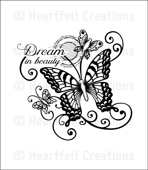 Dream in Beauty Stamp HCPC-3655