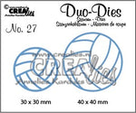 Crealies Duo Dies no. 27 - Volleyball