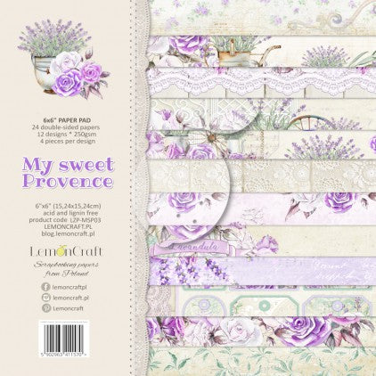 "LemonCraft  SET OF SCRAP PAPERS MY SWEET PROVENCE 12""x12"""