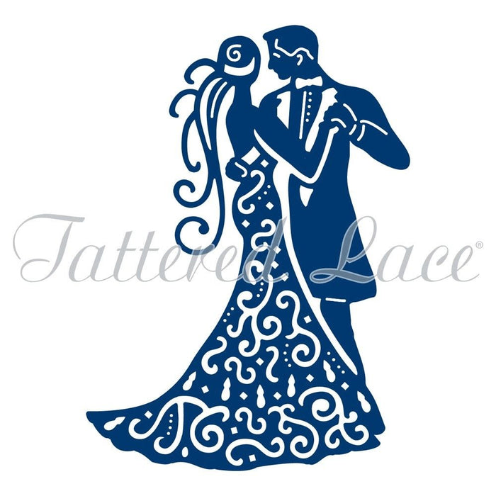 Tattered Lace Die Couple
