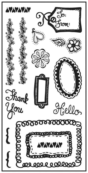 Oodles of Doodles - Clear Stamps