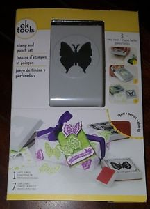 Ek Success Lace Butterfly Large Punch