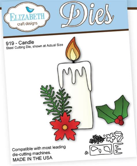 Elizabeth Craft Designs 732 Candles