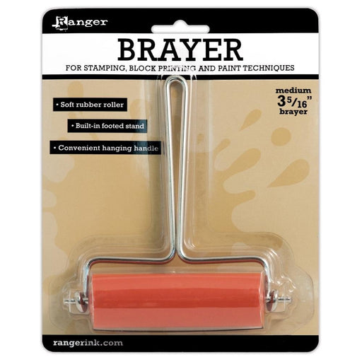 BRAYER Soft Rubber Roller MED 3 5/16