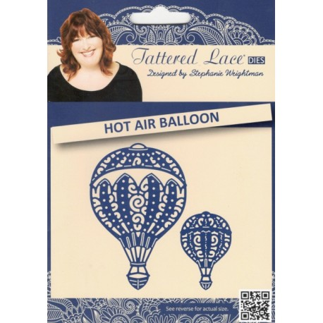 Tattered Lace Die D747 Hot Air Balloon