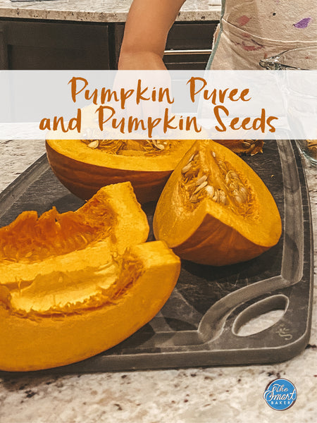 Pumpkin Puree + Cinnamon Sugar Pumpkin Seeds