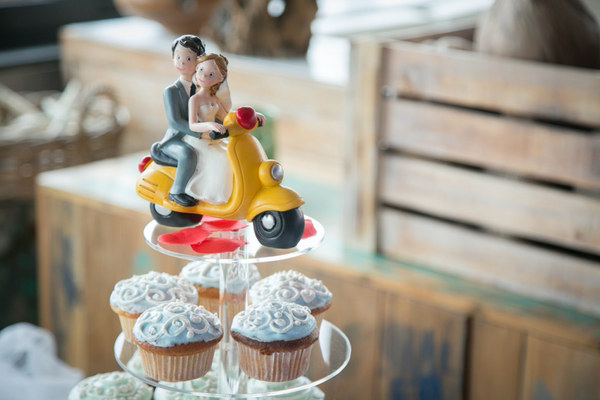 Wedding Cupcake Tower Stand