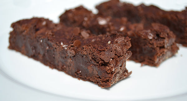 Brown Butter Brownie Sticks