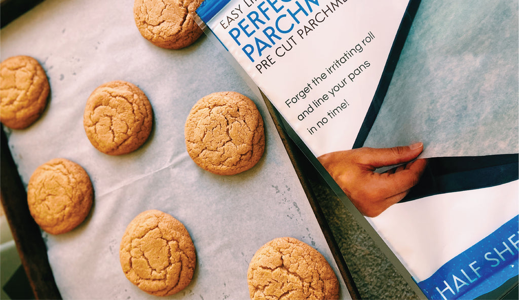 Half Sheet Parchment Lined Cookie Pan