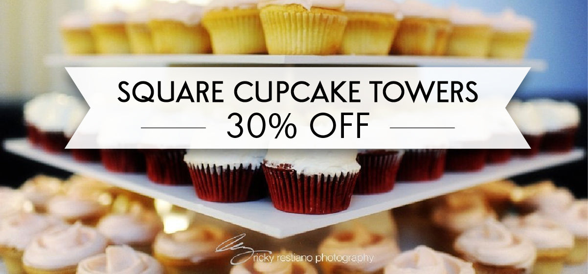 Square Cupcake Towers - 30% OFF