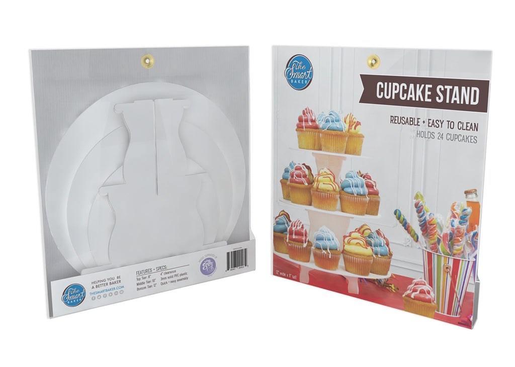 3 Tier Round Cupcake Stand Packaging