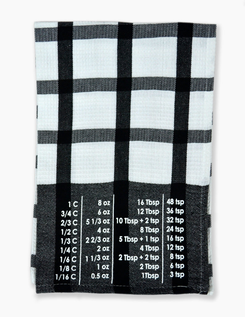 The Smart Baker Conversion Towel in Black