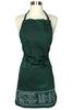 Forest Green Cheat Sheet Apron