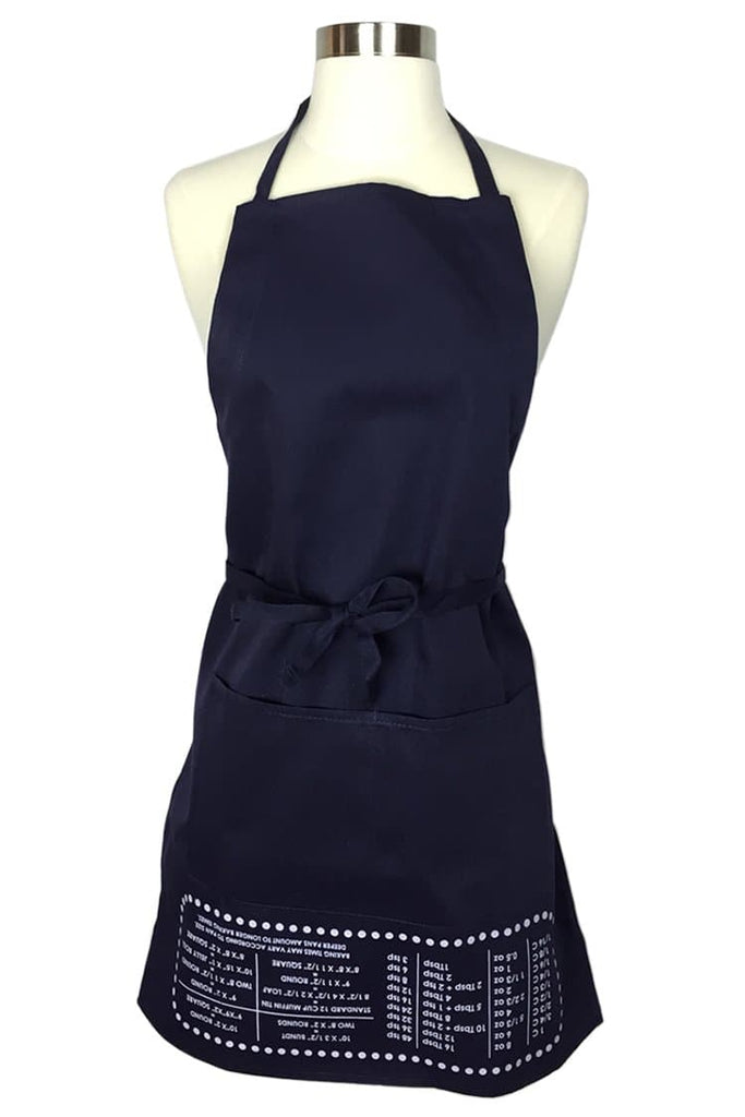 Navy Blue Cheat Sheet Apron