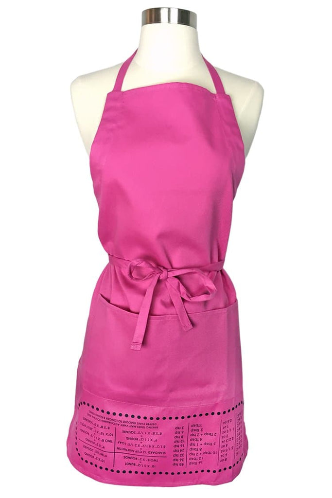 Pink Cheat Sheet Apron