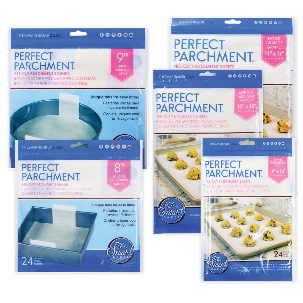 The Smart Baker Perfect Parchment Essentials Bundle