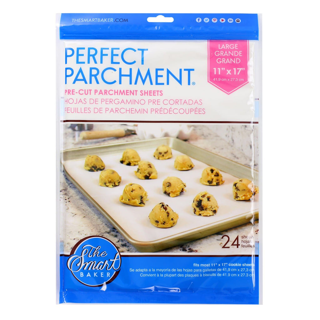 11x17 Large Pre-cut Parchment Sheets-24 pack-Package Front
