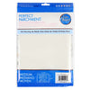 10x15 Medium Pre-cut Parchment Sheets-24 pack-Package Back