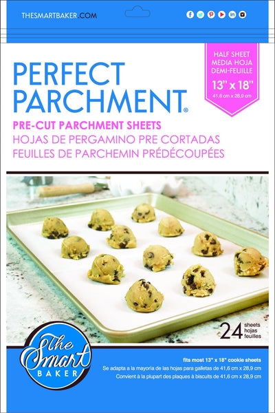 Half sheet 13x18 Parchment Packaging Front