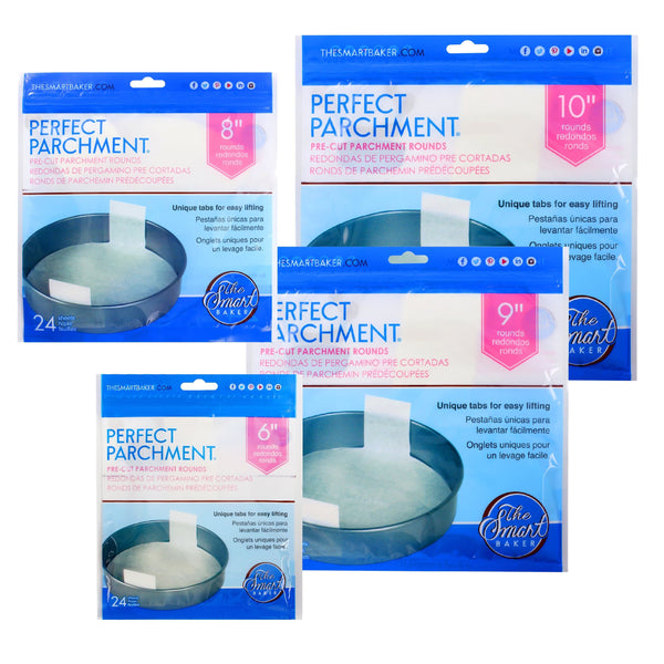 The Smart Baker Perfect Parchment Round Bundle