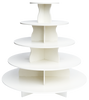 5 Tier Round PRO cupcake tower without cupcakes