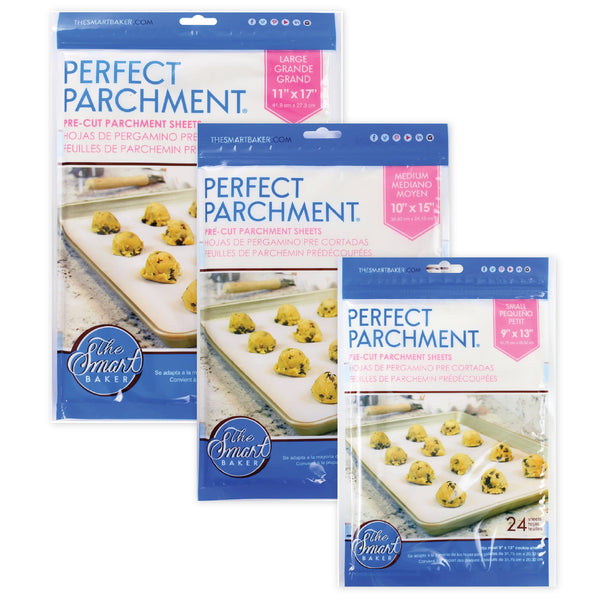 The Smart Baker Perfect Parchment Sheets Bundle