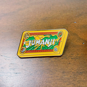 Jumanji Enamel Pin - Only 90's Kids Know