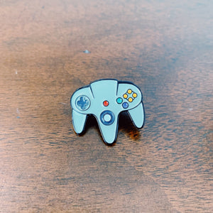 Nintendo 64 Controller Enamel Pin - Only 90's Kids Know