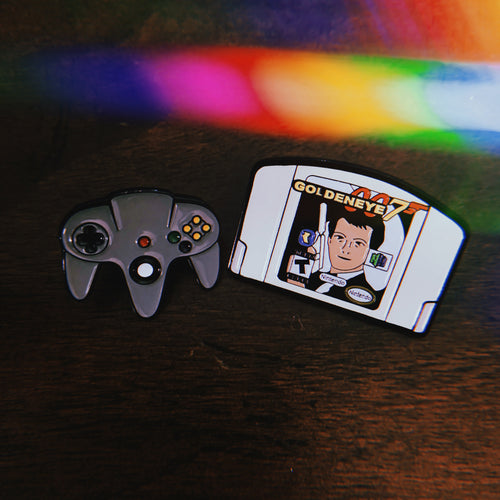 Controller & Goldeneye (Pair) - Only 90's Kids Know