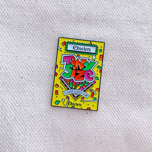 Chiclets Enamel Pin - Only 90's Kids Know